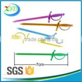 Party decoration decorative plastic sword stirrer for sale