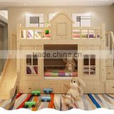 3 tier double cheap kids bunk beds colorful wooden kids bunk bed