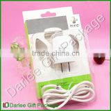 charger blister packaging usb clamshell blister packaging mobile phone charger packaging
