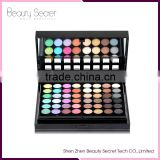 Cosmetics factory OEM bridal makeup sets,78 color palette with eyeshadow blush contour professional