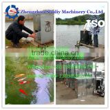 Automatic stainless steel Fish Feed ThrowingMachine fish feeding machine fish food feeder