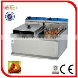 electric fryer counter top electric 2 tank fryer DF-904 0086-13632272289