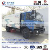 dongfeng 4*2 4*4 type 190hp 9 ton road vacuum cleaner