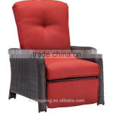 Outdoor Patio Reclining Deep Chair with Cushions