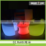 modern type led lightig chairs color change for nightclub led furniture table/led bar furniture/led table