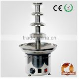 CHOCOLAZI ANT-8060 Auger 4 tiers stainless steel commercial wireless chocolate fountain