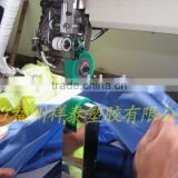 processed by hot air seam sealing machine