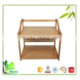 Easy to use 1.25 cubic bamboo kitchen shelf for microwave ,kitchen shelf,microwave shelf