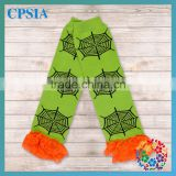 Orange Yellow Lace Ruffled Lovely Green Toddler Infant's Leg Warmer 2015 Popular Halloween Items