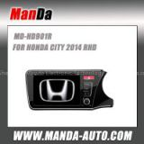 2 din Car stereo for HONDA CITY 2014 RHD in-dash head units car entertainment gps satellite navigation system