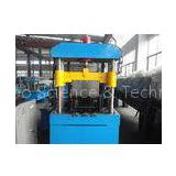Roof K - Span Roll Forming Machine , Wall Panel Roll Forming Machine By Chain