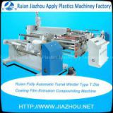 Ruian Fully Automatic Turret Winder Type T-Die Coating Film Extrusion Compounding Machine