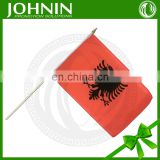 wholesale professinal factory sale polyester hand weaving albania flag