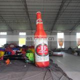 Custom inflatable wine bottle giant inflatable beer bottle for advertising