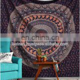 Indian Queen Mandala Hippie Tapestry Decorative Beach Throw Cotton Wall Hanging Bedding Dorm Decor / Home Textile / Tapestry