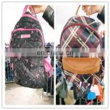Wholesale used school bags handbags of bundle clothing