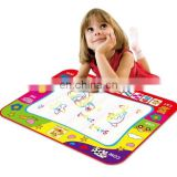 Dropshipping Children Rainbow Color Magic Doodle Water Drawing Mat with 2 Pen, Size: 80cm x 60cm