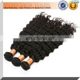 Wholesale Price 100% Human Hair Extensions Grade 6A Deep Wave Brazilian Human Hair