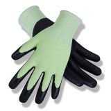 Latex Coated String Knit Safety Work Gloves/LCG-07