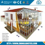 New Zeland AS Prefab Mobile Light steel structure durable villa