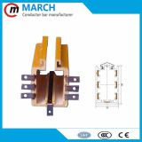 crane hoist and moving machine power box busbar