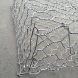 Galvanized gabion hexagonal wire mesh gabion basket for wire gabion wall