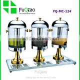 Wholesale Stainless steel 3 tanks hotel juice dispensers , water tea dispensers , coffee milk dispensers                                                                                         Most Popular