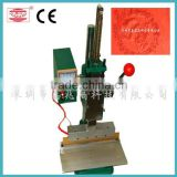ce certificate LOGO Embossing machine from china