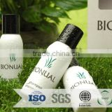 luxury hotel gel amenities /luxury plastic cosmetics shampoo bottles