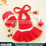 Wholesale Joyous baby girl swimwear one piece bow tie beachwear bikini girl sweet kids chiffon swimsuit