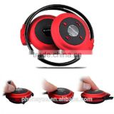 sports FM radio stereo wired wireless bluetooth v3.0 headset with microphone