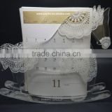 custom hot sale hobbyhorse/rocking horse shape acrylic table calendar card display holder
