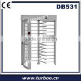 Card Reader Stainless Steel Full Height Turnstile For Pubic Security Verifiable Count Of Attendance