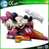 Hight quality inflatable obstacle course mickey mouse jumping castle with prices                                                                                                         Supplier's Choice