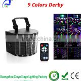 AmazPlay Stage Lighting Club Party DJ Disco Light with 27W 9 Colors LED Effect Light Remote Control