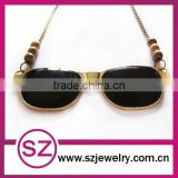 Antique sun glasses necklace jewelry wholesale