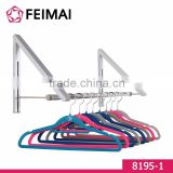 Hidden Type Indoor Adjustable Wall Mounted Folding Clothes Hanger Drying Rack                                                                         Quality Choice
