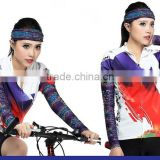 top quality digital printing sun protection anti UV rays cool seamless cycling arm sleeve