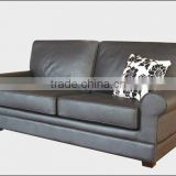 Luxury pure white leather high quality sofa brands Yuqi corner sofa wooden sofa design catalogue 9046