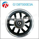 scooter 13 inch alloy aluminum wheel rims polish