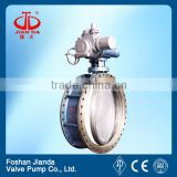 electric actuated flat plate gate valve