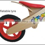Colorful kids-like brown leather bike saddle super pocket balance bike