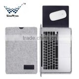 New Arrival Wool felt Laptop Case Bag for MacBook Air 11 inch to 15 inch                                                                         Quality Choice