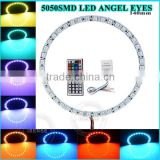 5050SMD 140mm RGB led ring B/R/W/Y/G car led light led angel eyes