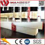 Wholesale Cheap special boat shape counter bar