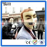 New V for Vendetta Mask Anonymous Guy Fawkes Fancy Dress Adult Costume cosplay