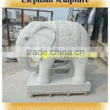 Top qualiy chinese stone carving, hand carved marble elephant stone sculpture