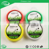 3.0mmx15M Original Factory 100% New Nylon Material Trimmer Line with Blister Donut Packing