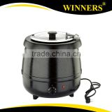 Wholesale Black Cast Iron 10L Stainless Steel Electric Soup Warmer