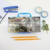 XG-20022 new products beautiful pencil case pencil case brands pencil display case with code